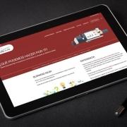 Trabajo de desarrollo y diseño Sitio web Businessnear