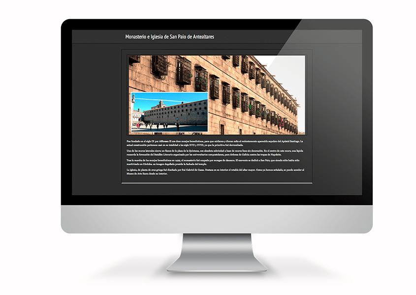 Mockup Sitio Web Casa de la Inmaculada